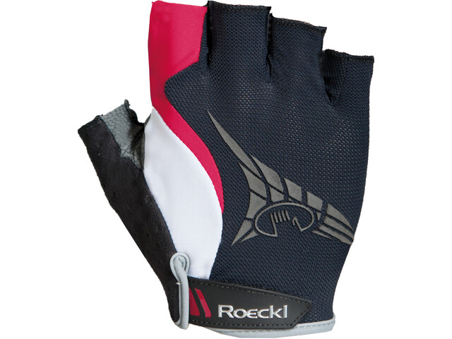 Roeckl Inverno Handschuhe schwarz/rot